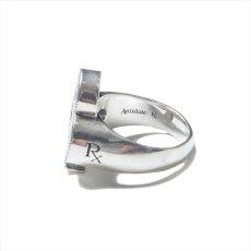 画像5: Antidote BUYERS CLUB Engraved Club Ring (With Stone) クラブリング (5)