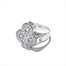 画像3: Antidote BUYERS CLUB Engraved Club Ring (With Stone) クラブリング (3)