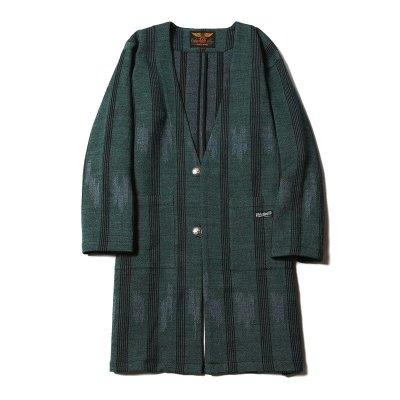画像1: CALEE Native Jacquard Happi Coat