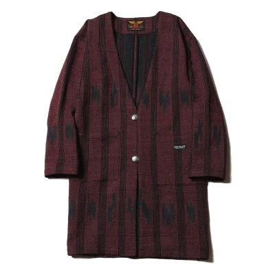 画像2: CALEE Native Jacquard Happi Coat