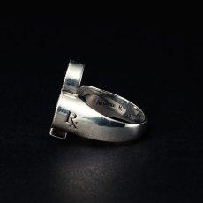 画像2: Antidote BUYERS CLUB Engraved Club Ring (With Stone) クラブリング (2)