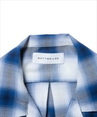 画像3: ROTTWEILER Rayon Check Open Collar LS Shirt (チェックシャツ) (3)