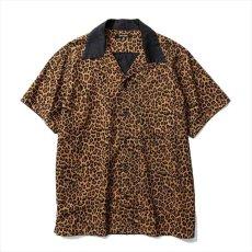 画像1: MINEDENIM Leopard S/S Open Collar SH (レオパードシャツ) (1)