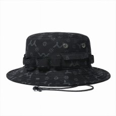 画像1: YOHJI YAMAMOTO x NEW ERA Adventure Hat 2020SS Allover Print (ハット) (1)