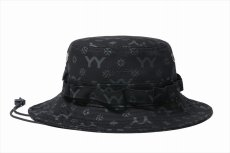 画像2: YOHJI YAMAMOTO x NEW ERA Adventure Hat 2020SS Allover Print (ハット) (2)