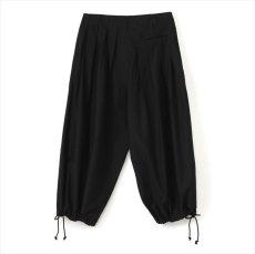 画像2: YOHJI YAMAMOTO BLACK Scandal Basic Balloon Pants (バルーンパンツ) (2)