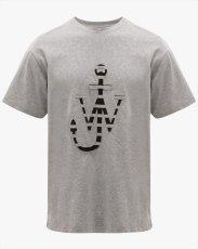 画像1: JW ANDERSON Lasercut Logo T-Shirt (Tシャツ) (1)