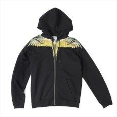 画像2: MARCELO BURLON Wings Zip Hoodie (ジップパーカー) (2)