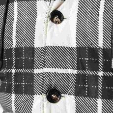 画像2: MARNI Check Fooded Jacket (チェックフーデッドジャケット) (2)