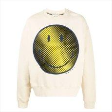 画像1: MARNI x SMILEY® Sweatshirt (スマイリースウェット) (1)