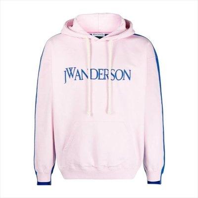 画像1: JW ANDERSON Deconstructed Fleece Back Hoodie (パーカー)
