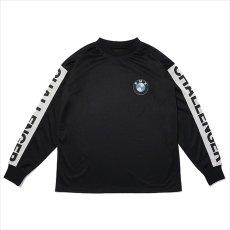 画像1: CHALLENGER L/S Logo Mesh Tee (ロングTシャツ) (1)