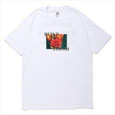 画像1: CHALLENGER Fire Rose Tee (Tシャツ) (1)