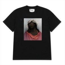 画像1: DENIM TEARS Crown Made Of Cotton T-Shirt (Tシャツ) (1)