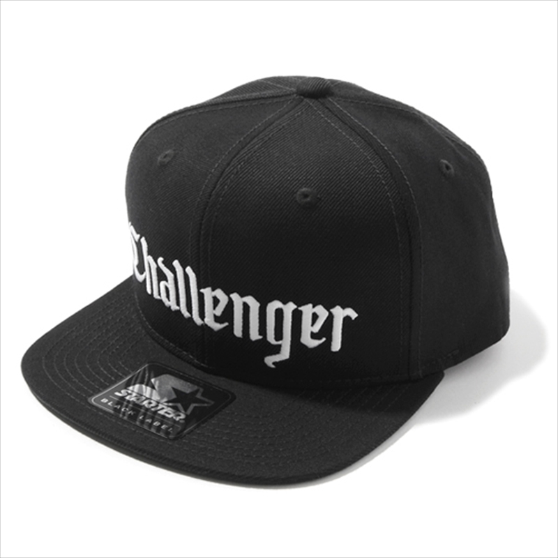 CHALLENGER x STARTER BLACK LABEL Logo Snapback Cap 入荷
