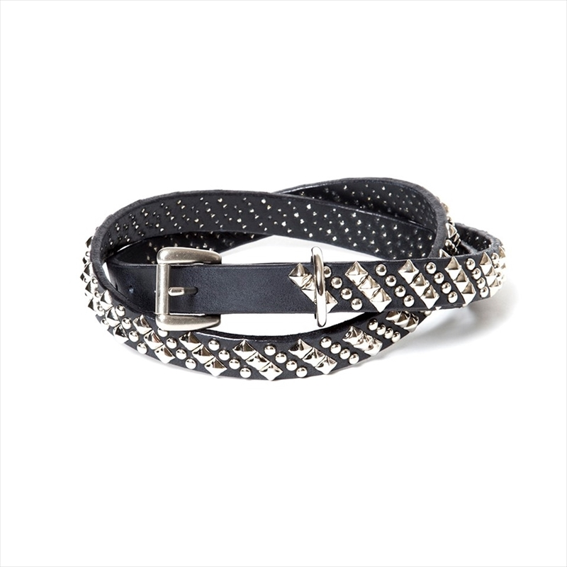COOTIE Kings Road Studs Narrow Belt