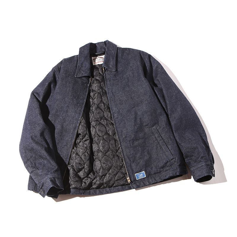 CALEE Denim Work Jacket