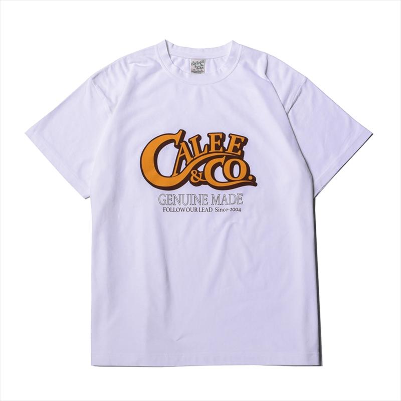 画像1: CALEE Main Logo T-shirt (Tシャツ) (1)