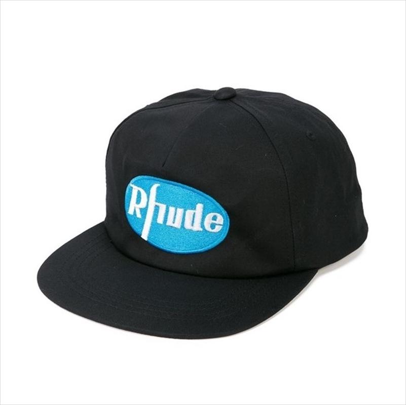 画像1: RHUDE Rhude Black Cap (キャップ) (1)