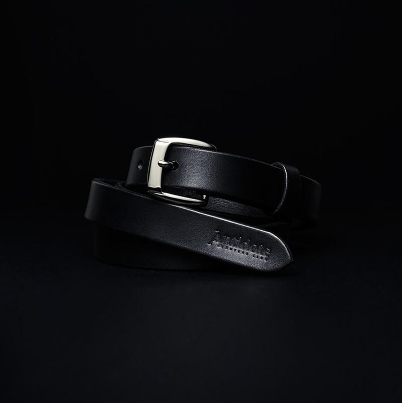 画像1: Antidote BUYERS CLUB Narrow Harness Leather Belt (ナローレザーベルト) (1)