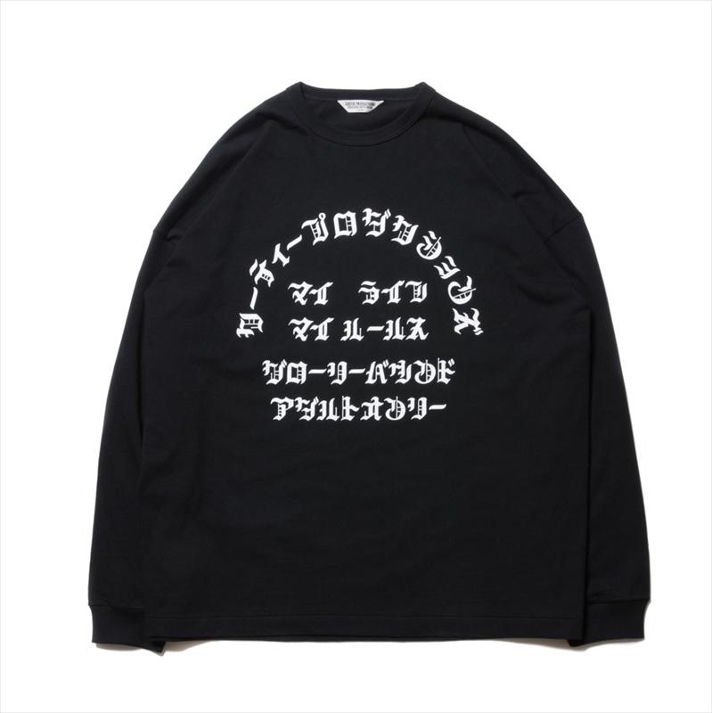 画像1: COOTIE Print L/S Tee (マイライフマイルールス) ロングTシャツ (1)