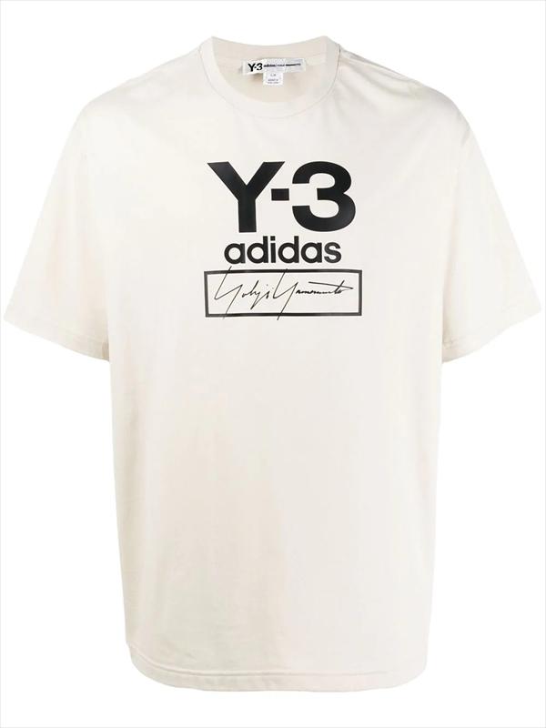 画像1: Y-3 Stacked Logo Tee (Tシャツ) (1)