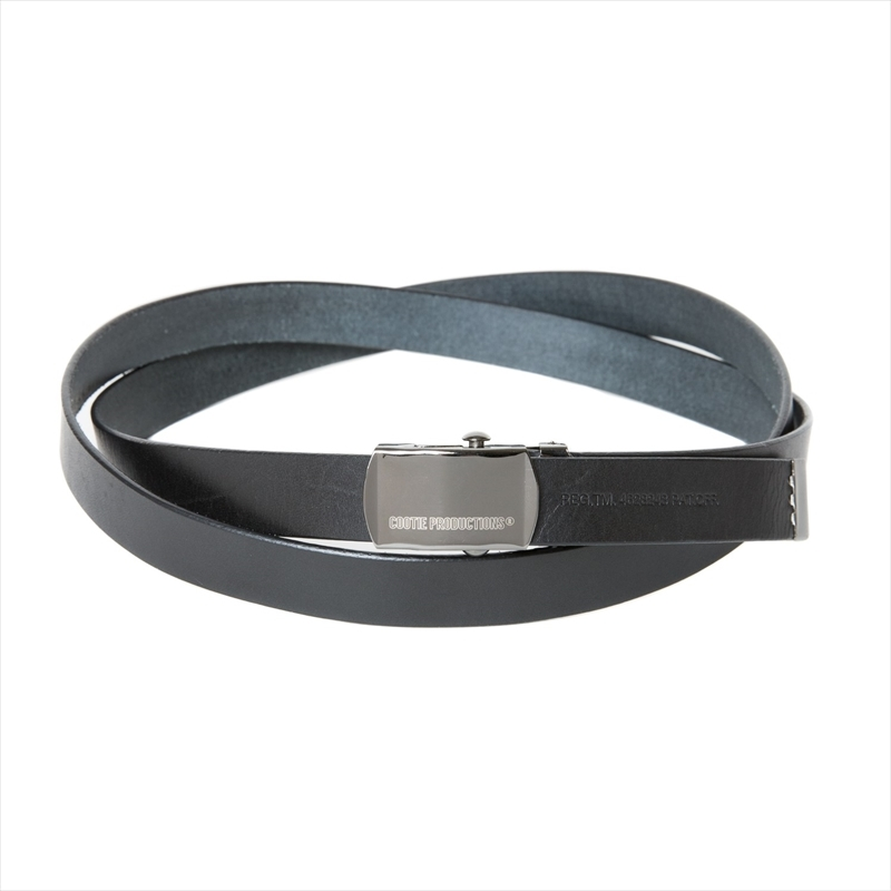 画像1: COOTIE Leather Narrow G.I Belt (レザーナローG.I ベルト) (1)