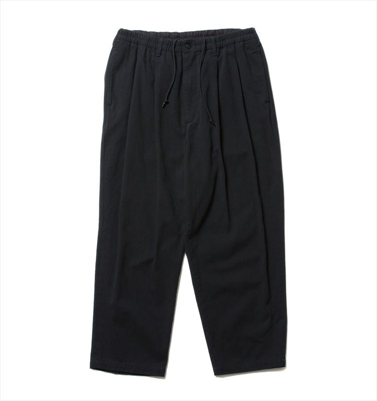 画像1: COOTIE Rough Twill 2 Tuck Easy Pants (2タックイージーパンツ) (1)