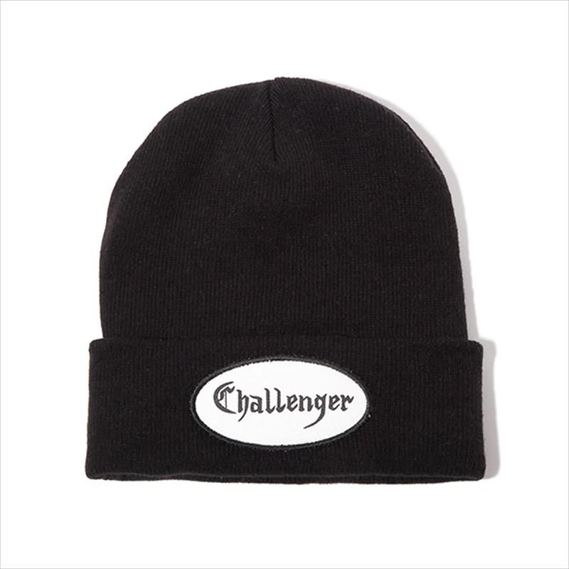 画像1: CHALLENGER Patch Knit Cap (ニットキャップ) (1)
