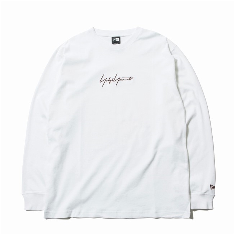 画像1: YOHJI YAMAMOTO x NEW ERA L/S T-shirt FW19 (ロングTシャツ) (1)