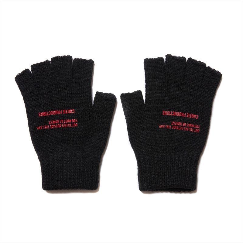 画像1: COOTIE Fingerless Knit Glove (グローブ) (1)