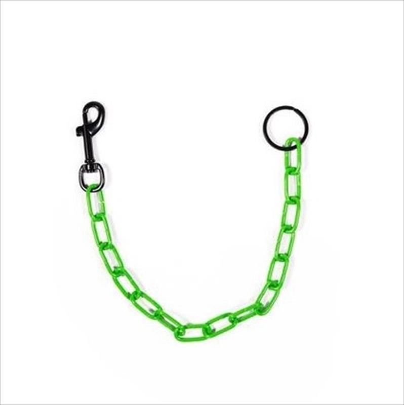 画像1: CROSS/PHONEZ Wallet Chain Neon Green (ウォレットチェーン) (1)