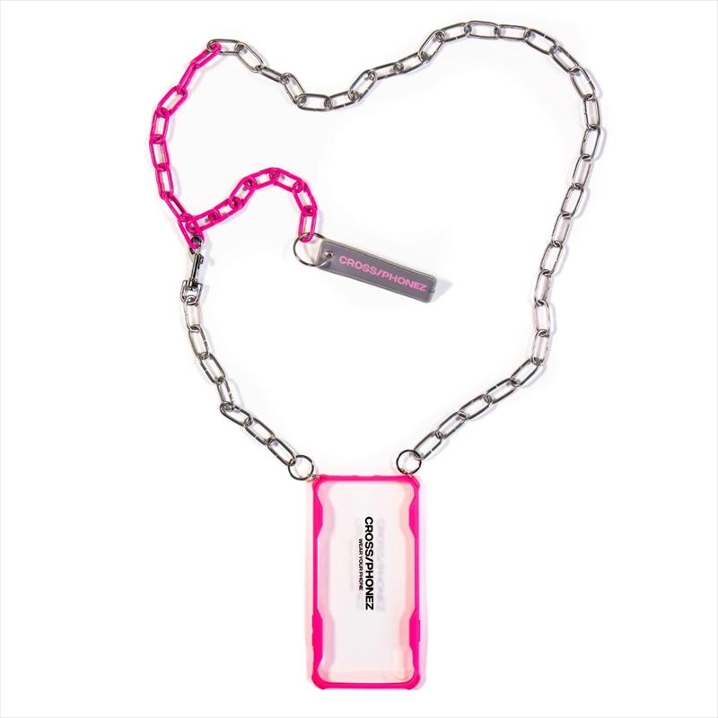 画像1: CROSS/PHONEZ CROSSPHONEZ Silver And Pink Chain (iPhone ケース) (1)