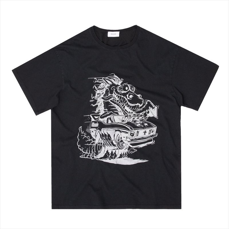 画像1: RHUDE Horse Power Tee (Tシャツ) (1)