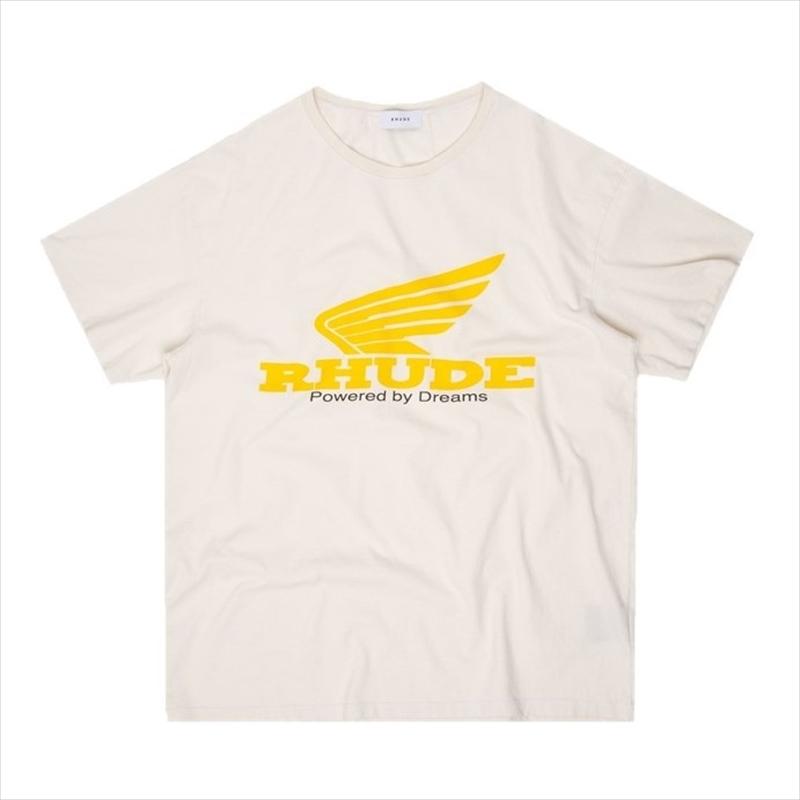 画像1: RHUDE Yellow Rhonda Tee (Tシャツ) (1)