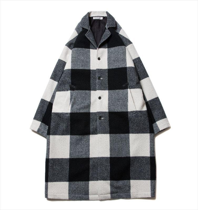 画像1: COOTIE Napping Buffalo Check Shop Coat (ショップコート) (1)