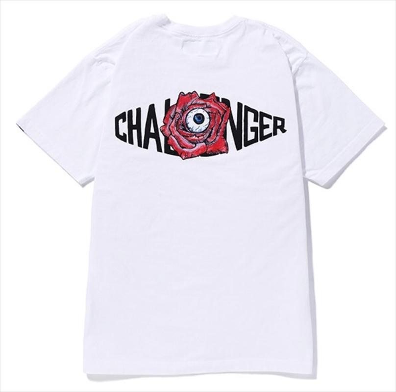 画像1: CHALLENGER 10th Rose Logo Tee (10周年記念Tシャツ) (1)