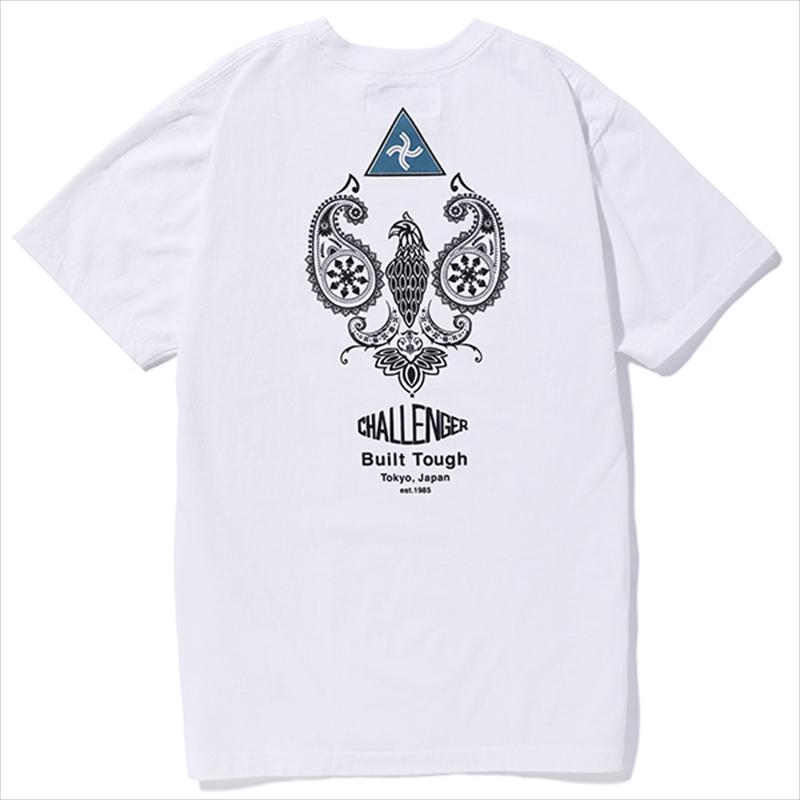 画像1: CHALLENGER Paisley Eagle Tee (Tシャツ) (1)