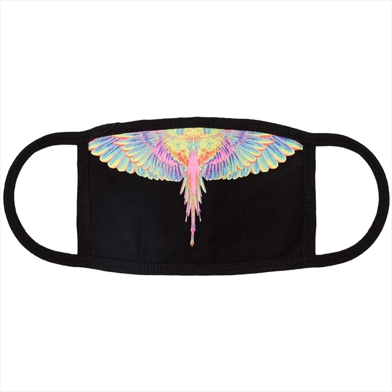 画像1: MARCELO BURLON Fluo Wings Mask (マスク) (1)