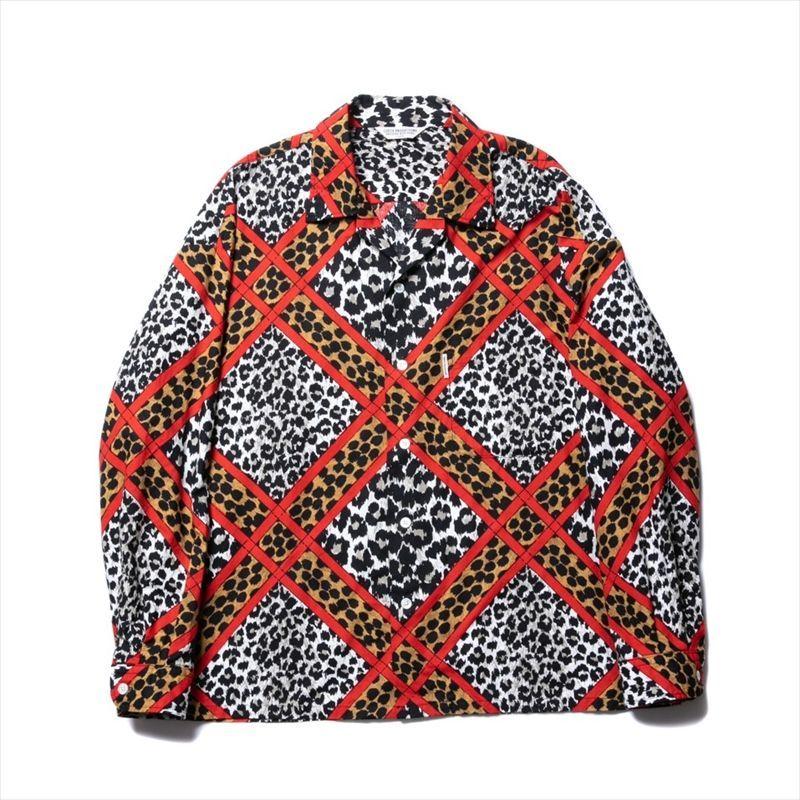 画像1: COOTIE Crazy Leopard Open-Neck L/S Shirt (クレイジーレオパードシャツ) (1)