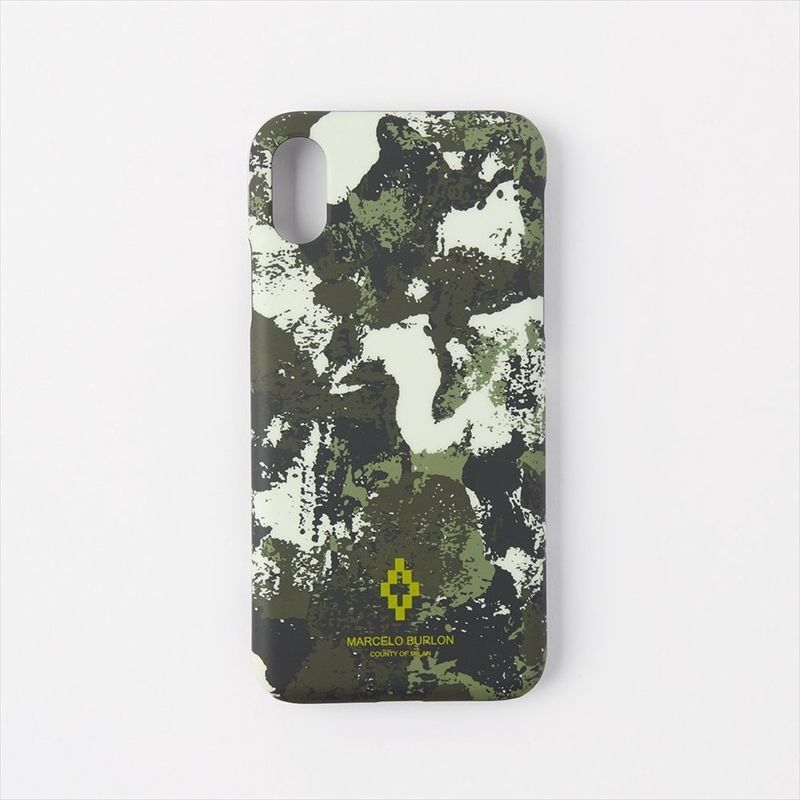 画像1: MARCELO BURLON Camou iPhone Case XS (iPhone ケース) (1)