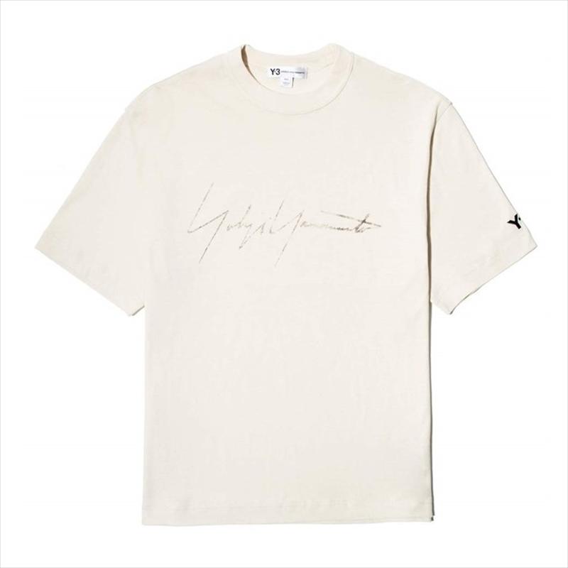 画像1: Y-3 Distressed Signature SS Tee (Tシャツ) (1)