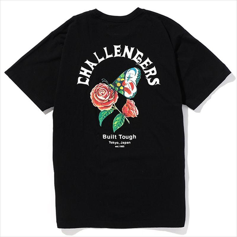 画像1: CHALLENGER Butterfly Tee (Tシャツ) (1)