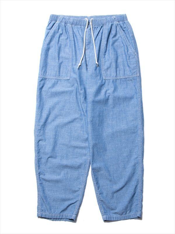 画像1: COOTIE Chambray Baker Easy Pants (シャンブレーイージーパンツ) (1)