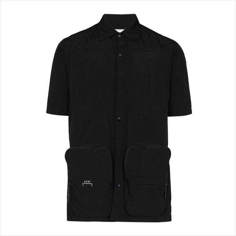画像1: A-COLD-WALL* Corbusier Padded Shirt (Utility Pocket Short Sleeve Shirt) シャツ (1)