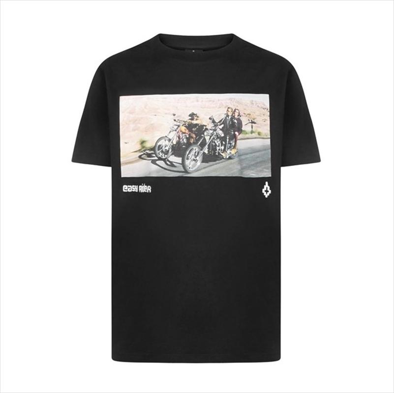 画像1: MARCELO BURLON Easy Rider Frame T-Shirt (Tシャツ) (1)