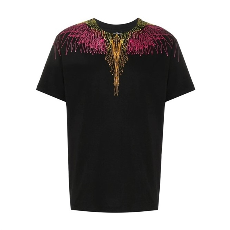 画像1: MARCELO BURLON Bezier Wings T-Shirt (Tシャツ) (1)