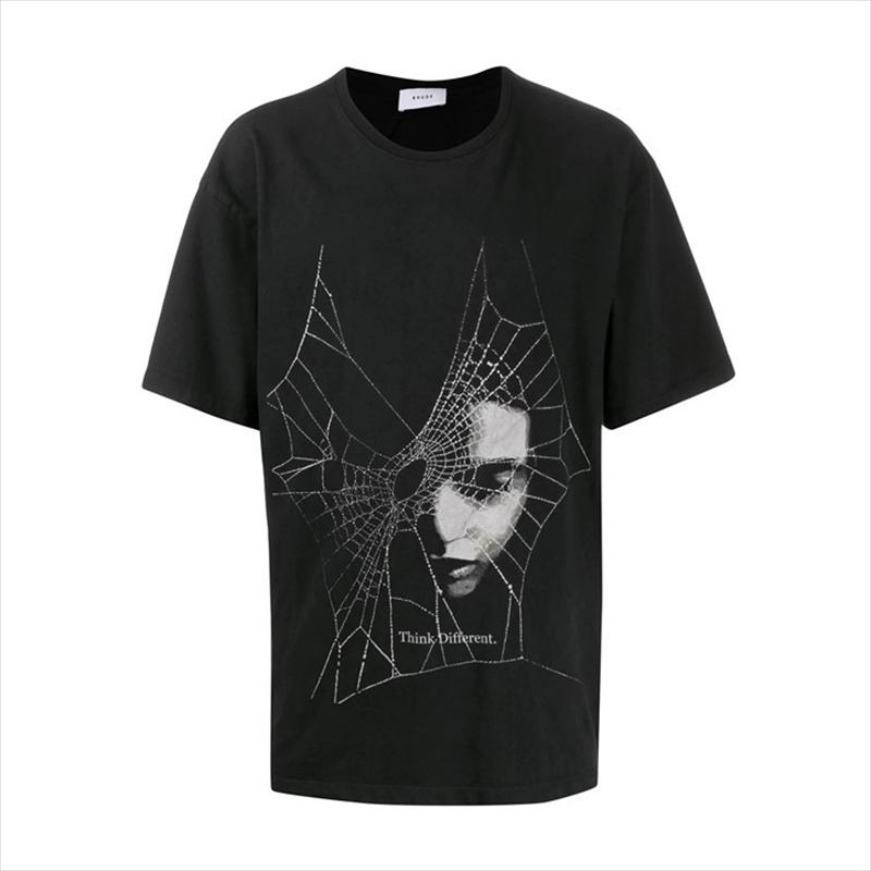 画像1: RHUDE Spider Web Tee (Tシャツ) (1)