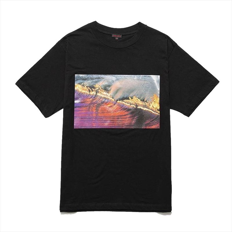 画像1: CLOT Wavy Flame T-Shirt (Tシャツ) (1)