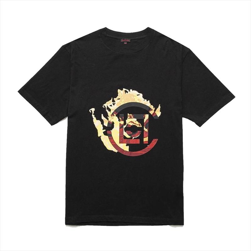 画像1: CLOT Logo Flame T-Shirt (Tシャツ) (1)